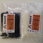 ASAFE 2,5x140 Plastik Kablo Bağı (100 Ad)